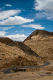 Strada in Ladakh Immagine Stock