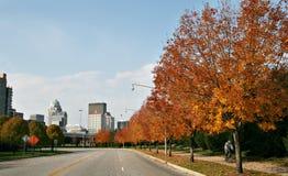 Strada a Louisville immagini stock