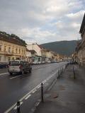 Strada Lungă, Brasov, Romania royalty free stock photo