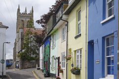 Strada mæstra Brixham Torbay Devon Endland Regno Unito Immagine Stock