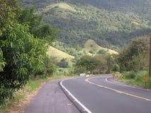 Strada Miguel Pereira nel Brasile Immagini Stock