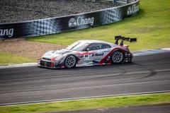 Strada MOLA GT-r di S di MOLA nelle corse GT500 a Burirum, Tailandia 201 Immagine Stock
