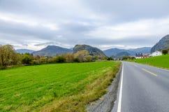 Strada in montagna Fotografia Stock
