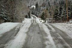 Strada nel Canada Fotografia Stock
