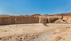 Strada nel deserto Immagine Stock