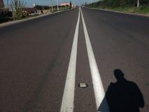 Strada nel Marocco fotografie stock libere da diritti
