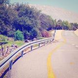 Strada nell'Israele Fotografie Stock