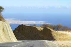 Strada nell'Oman Fotografie Stock Libere da Diritti