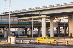 Strada nella città di Mosca nel 2017 Fotografia Stock
