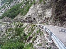 Strada nelle montagne Immagini Stock