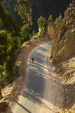 Strada nelle montagne Immagine Stock