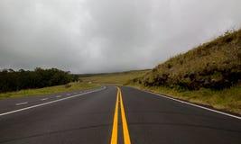 Strada nelle nuvole Immagini Stock