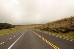 Strada nelle nuvole Fotografie Stock Libere da Diritti