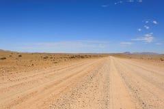Strada non asfaltata Fotografia Stock