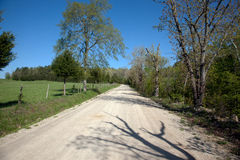 Strada non asfaltata immagine stock libera da diritti