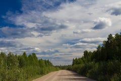 Strada non asfaltata immagini stock libere da diritti