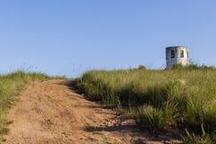 Strada non asfaltata della sommità della torre dell'allerta Immagine Stock Libera da Diritti