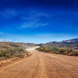 Strada non asfaltata della traccia di Apache Fotografia Stock