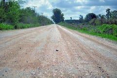 Strada non asfaltata rurale immagini stock libere da diritti