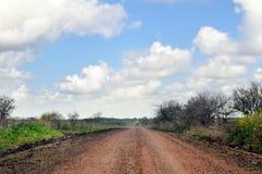 Strada non asfaltata rurale fotografia stock libera da diritti