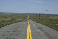Strada in Oklahoma fotografia stock libera da diritti