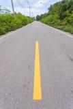 Strada in paese fotografia stock libera da diritti