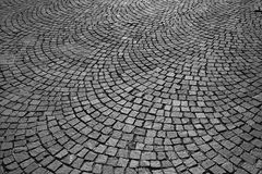 Strada pavimentata Immagini Stock