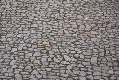 Strada pavimentata pietra Immagini Stock Libere da Diritti