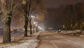 Strada pedonale Belgrado Serbia Fotografia Stock Libera da Diritti