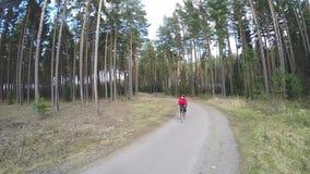 Strada per ciclare stock footage