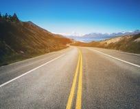 Strada per montare cuoco, Nuova Zelanda fotografia stock libera da diritti