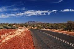 Strada per montare Sonder Fotografia Stock