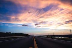 Strada per rimuovere i cieli Immagine Stock Libera da Diritti