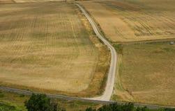 Strada poderale nella campagna di East Sussex immagine stock libera da diritti