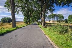 Strada in Polonia Immagine Stock Libera da Diritti