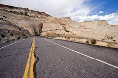 Strada principale 12 dell'Utah Immagini Stock