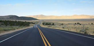 Strada principale 50 nell'Utah Fotografie Stock Libere da Diritti