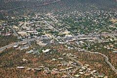 Strada principale 89a in Sedona, Arizona Fotografia Stock Libera da Diritti
