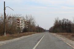 Strada principale abbandonata Immagini Stock Libere da Diritti