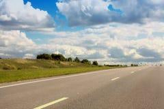 Strada principale ad alta velocità Fotografia Stock