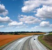 Strada principale ad alta velocità Immagine Stock