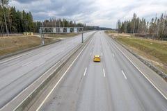 Strada principale ad alta velocità Mosca St Petersburg Immagine Stock