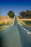 Strada principale africana (Sudafrica) Fotografia Stock