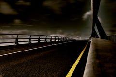 Strada principale all'inferno Fotografia Stock