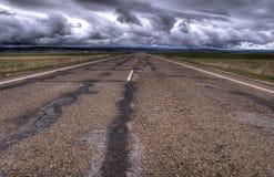 Strada principale all'inferno fotografia stock libera da diritti