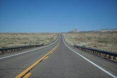 Strada principale alla valle del monumento Fotografia Stock Libera da Diritti