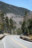 Strada principale attraverso la regione selvaggia Fotografia Stock
