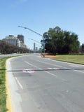 Strada principale a Buenos Aires Fotografie Stock Libere da Diritti