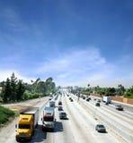 Strada principale in California Fotografia Stock