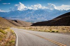 Strada principale in California immagini stock